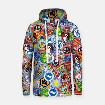 Thumbnail image of Premier League stickerbombing Hoodie, Live Heroes