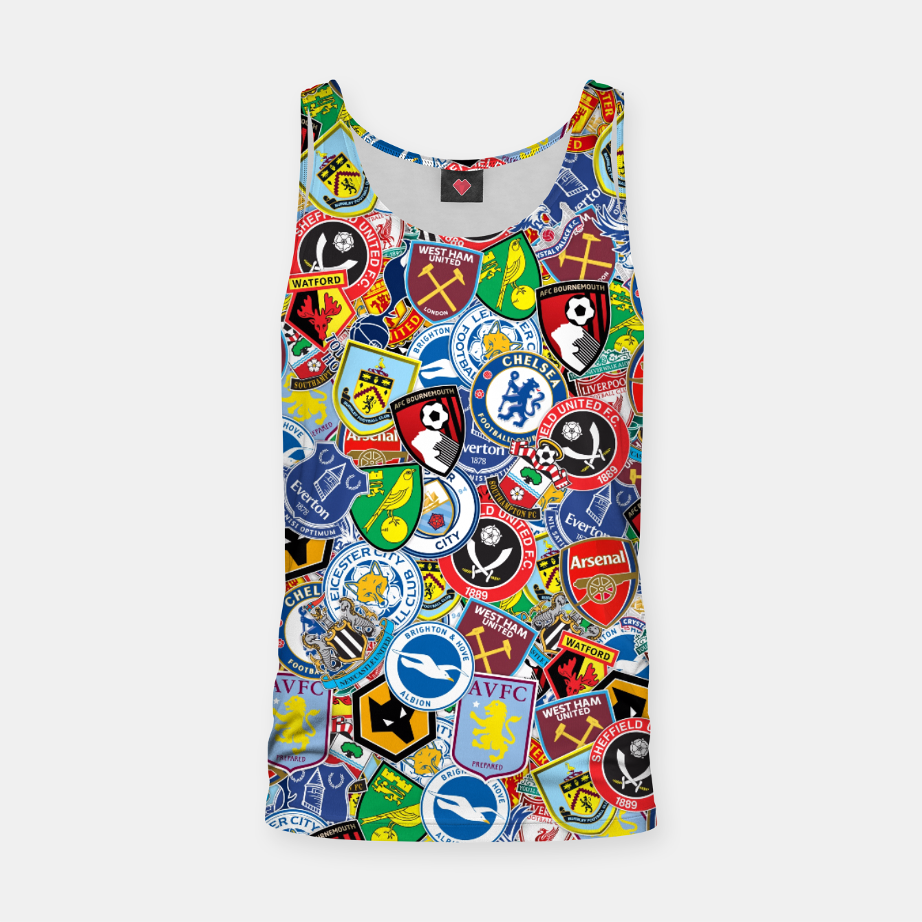 Image of Premier League stickerbombing Tank Top - Live Heroes