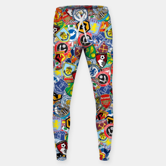 Thumbnail image of Premier League stickerbombing Sweatpants, Live Heroes