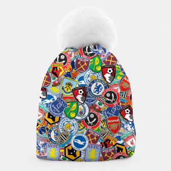 Thumbnail image of Premier League stickerbombing Beanie, Live Heroes