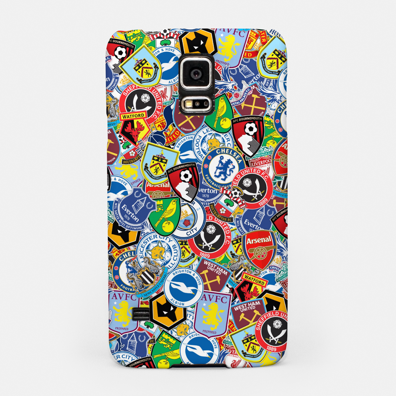 Image of Premier League stickerbombing Samsung Case - Live Heroes