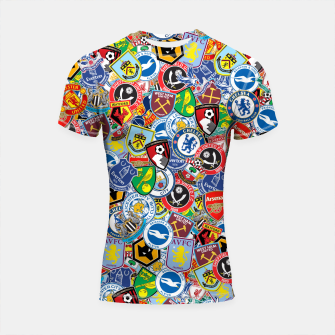 Thumbnail image of Premier League stickerbombing Shortsleeve rashguard, Live Heroes