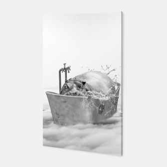 HIPPO BATH Canvas thumbnail image