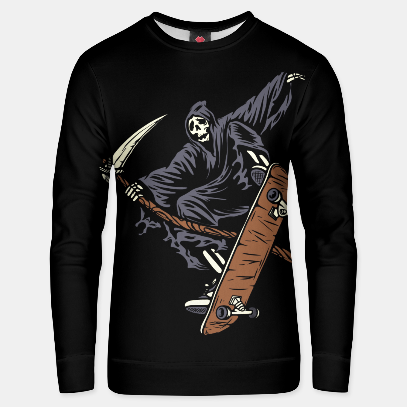 Image of Skate Reaper Unisex sweater - Live Heroes