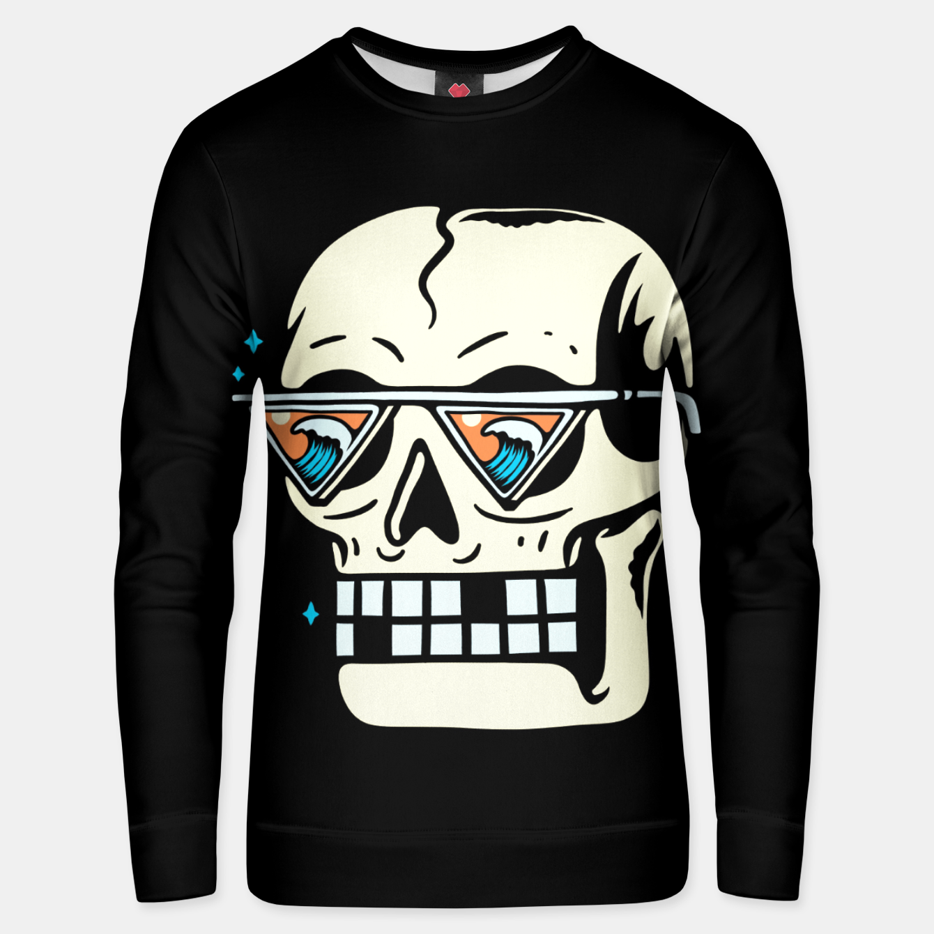 Image of Wave Finder Unisex sweater - Live Heroes