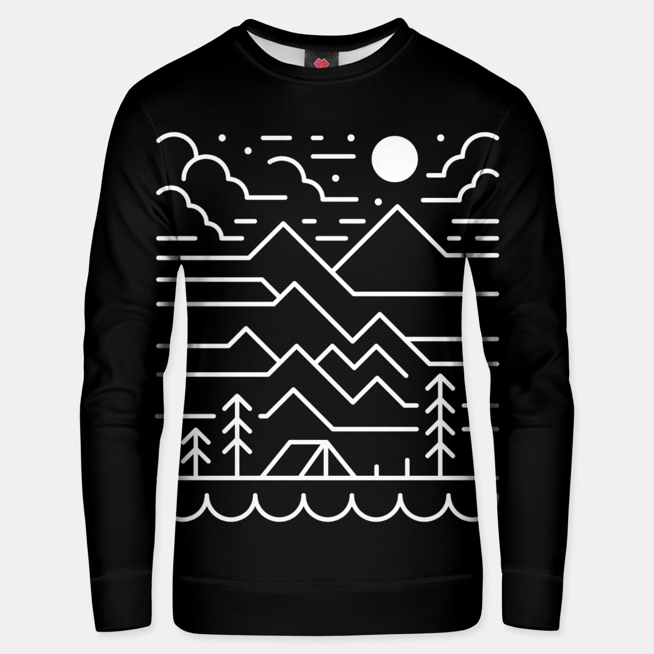 Image of Back to Nature Unisex sweater - Live Heroes