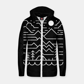 Back to Nature Zip up hoodie thumbnail image