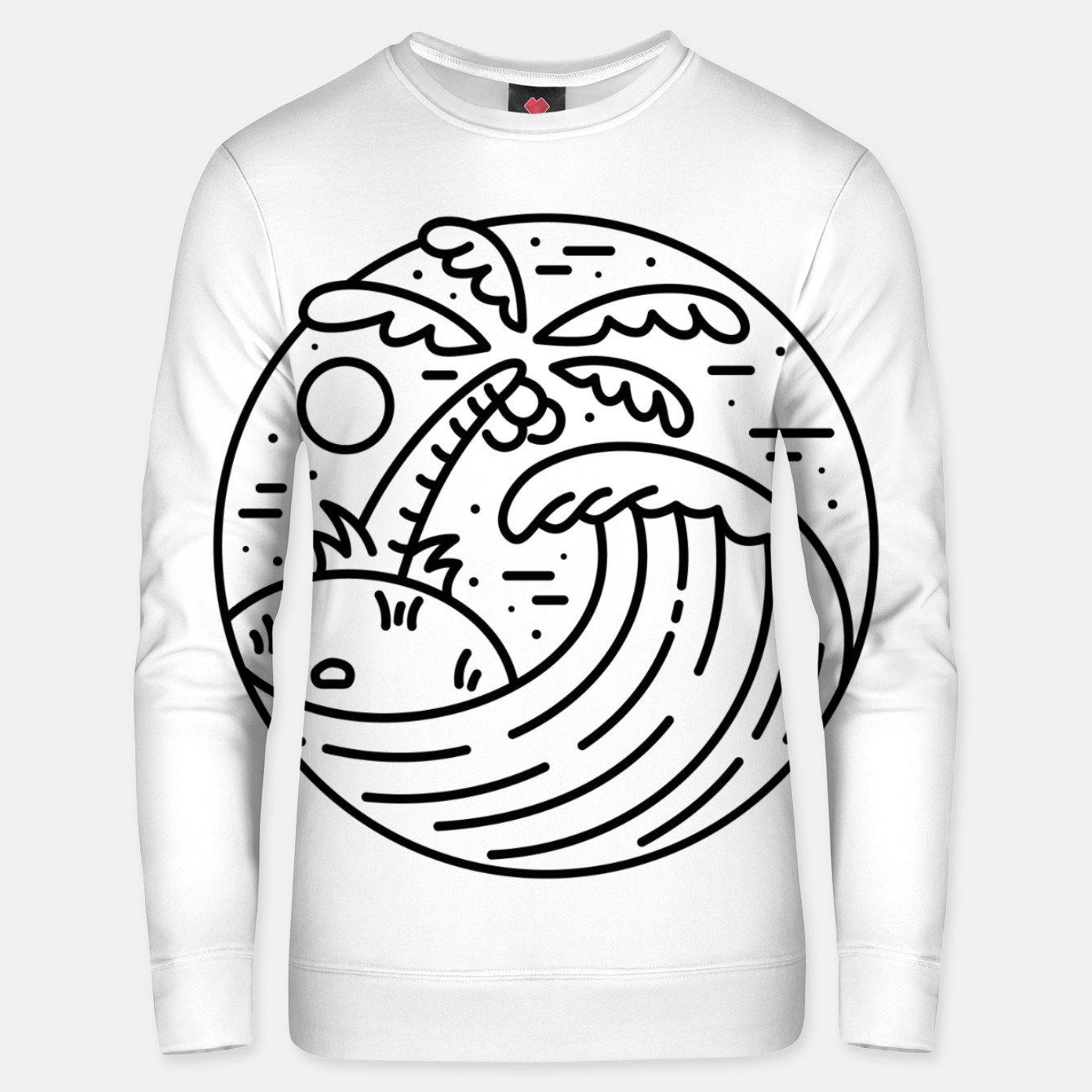 Image of Best Wave Unisex sweater - Live Heroes