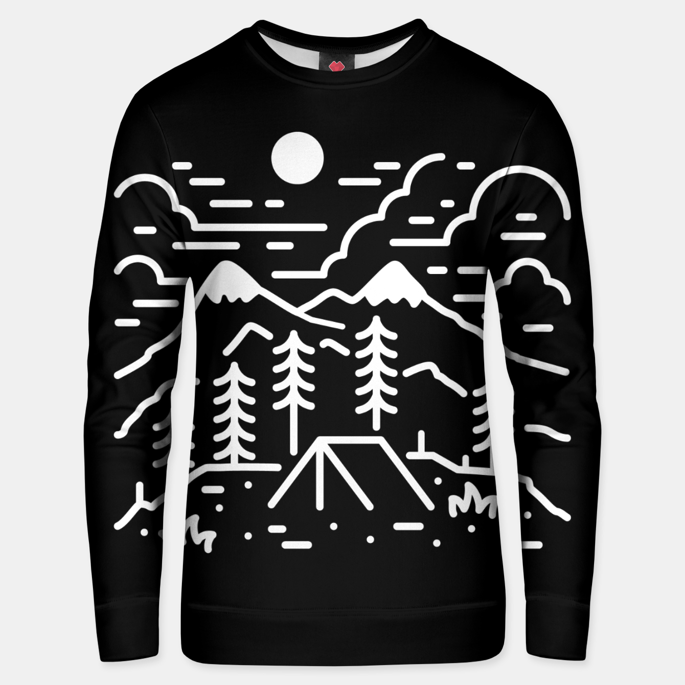 Image of Let's Get Lost Unisex sweater - Live Heroes