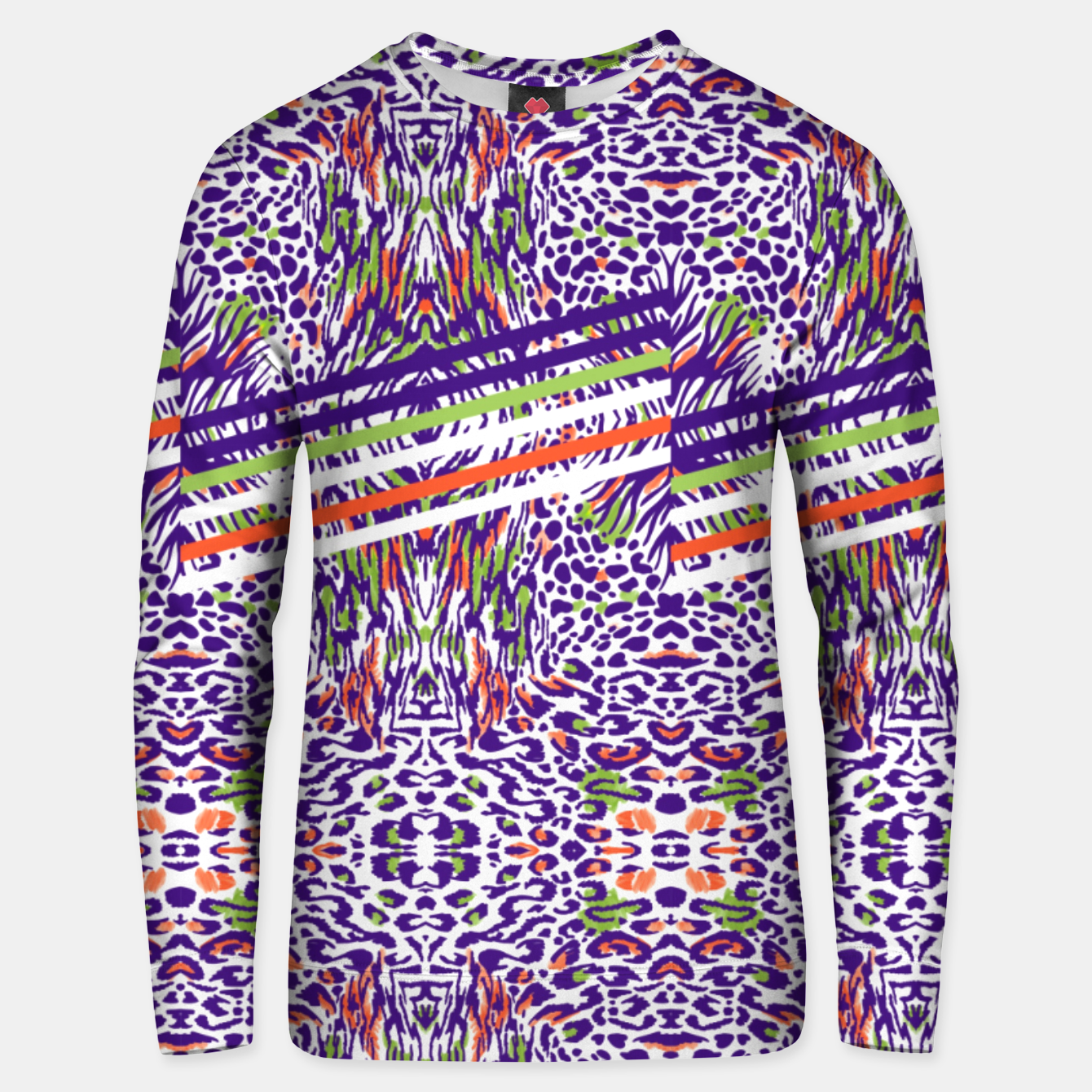 Image of Abstract animal print colorful Sudadera unisex - Live Heroes