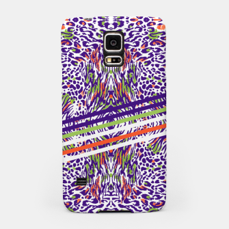 Abstract animal print colorful Carcasa por Samsung thumbnail image