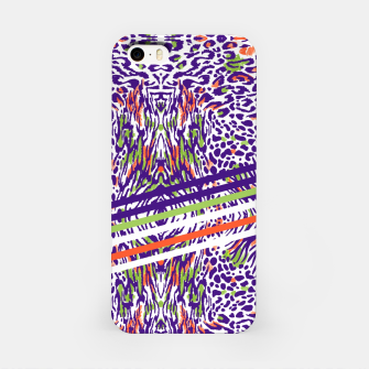 Abstract animal print colorful Carcasa por Iphone thumbnail image
