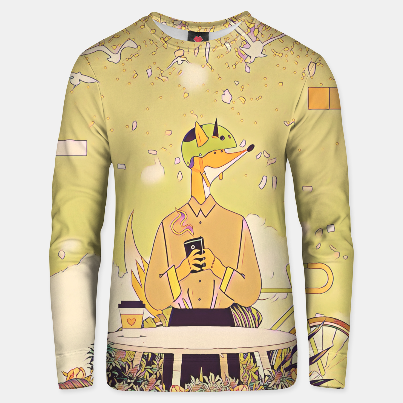 Image of Waiting for you Unisex sweater - Live Heroes