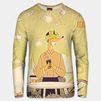 Thumbnail image of Waiting for you Unisex sweater, Live Heroes
