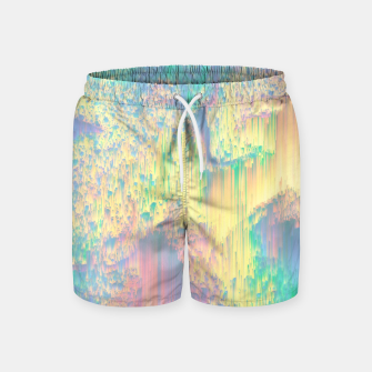 Thumbnail image of Remixed Nature Swim Shorts, Live Heroes