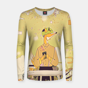 Thumbnail image of Waiting for you Women sweater, Live Heroes