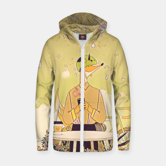 Thumbnail image of Waiting for you Zip up hoodie, Live Heroes