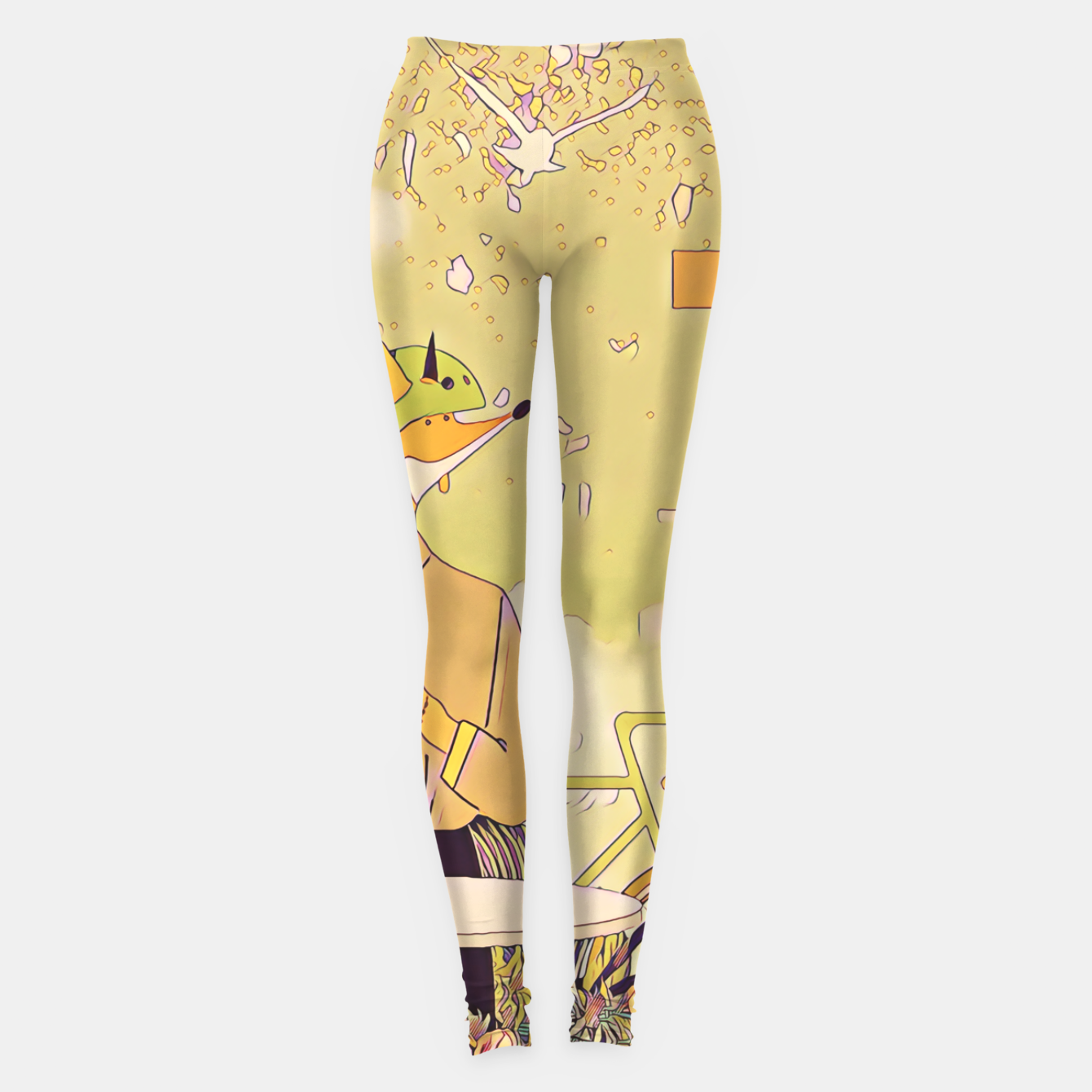 Image of Waiting for you Leggings - Live Heroes