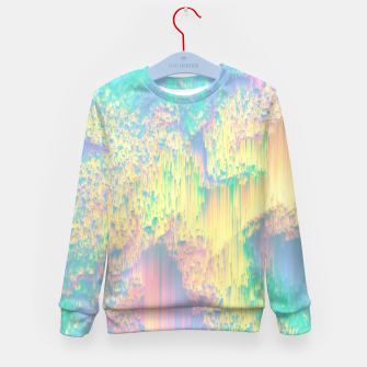 Thumbnail image of Remixed Nature Kid's sweater, Live Heroes