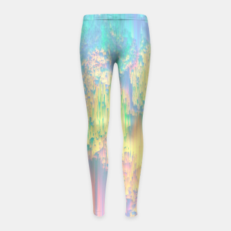 Thumbnail image of Remixed Nature Girl's leggings, Live Heroes