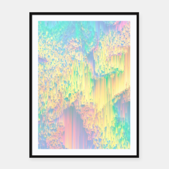 Thumbnail image of Remixed Nature Framed poster, Live Heroes