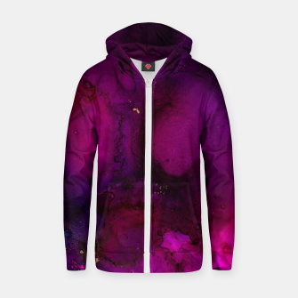 Thumbnail image of Hollow Brilliance Zip up hoodie, Live Heroes