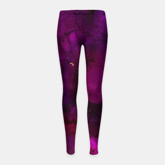 Thumbnail image of Hollow Brilliance Girl's leggings, Live Heroes