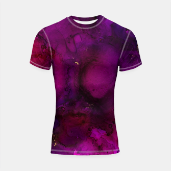 Thumbnail image of Hollow Brilliance Shortsleeve rashguard, Live Heroes