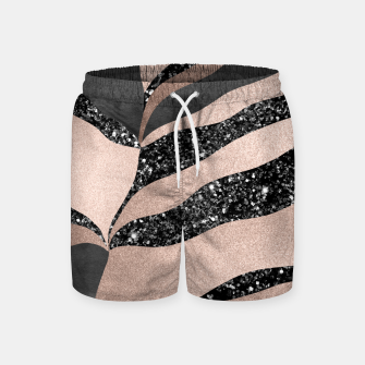Thumbnail image of Desert Night Glam Stripes #1 #wall #decor #art Badeshorts, Live Heroes
