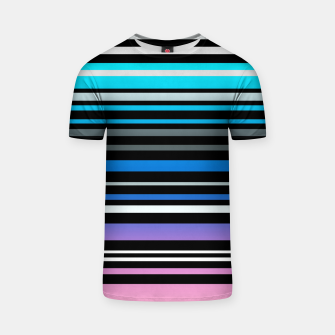 Simple striped pattern, simple, striped T-shirt thumbnail image