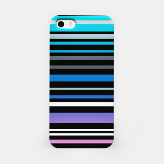 Simple striped pattern, simple, striped iPhone Case thumbnail image