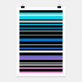 Simple striped pattern, simple, striped Poster thumbnail image
