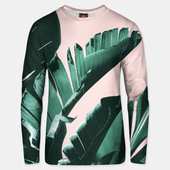 Thumbnail image of Banana Leaves Finesse #3 #tropical #decor #art  Unisex sweatshirt, Live Heroes