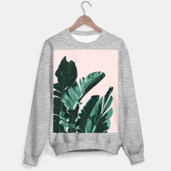 Thumbnail image of Banana Leaves Finesse #3 #tropical #decor #art  Sweatshirt regulär, Live Heroes