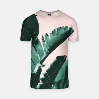 Thumbnail image of Banana Leaves Finesse #3 #tropical #decor #art  T-Shirt, Live Heroes