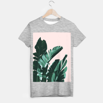 Thumbnail image of Banana Leaves Finesse #3 #tropical #decor #art  T-Shirt regulär, Live Heroes