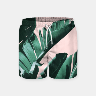 Thumbnail image of Banana Leaves Finesse #3 #tropical #decor #art  Badeshorts, Live Heroes