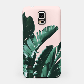 Thumbnail image of Banana Leaves Finesse #3 #tropical #decor #art  Handyhülle für Samsung, Live Heroes