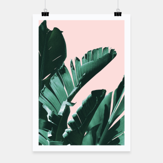 Thumbnail image of Banana Leaves Finesse #3 #tropical #decor #art  Plakat, Live Heroes