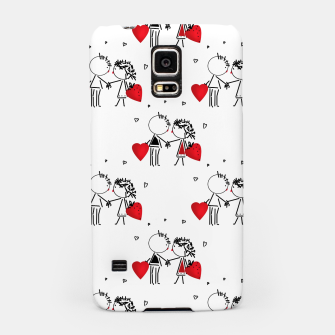 Love Girl Boy Valentines Day feel relations cartoon fun Samsung Case thumbnail image