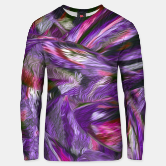 Thumbnail image of purple Unisex sweater, Live Heroes