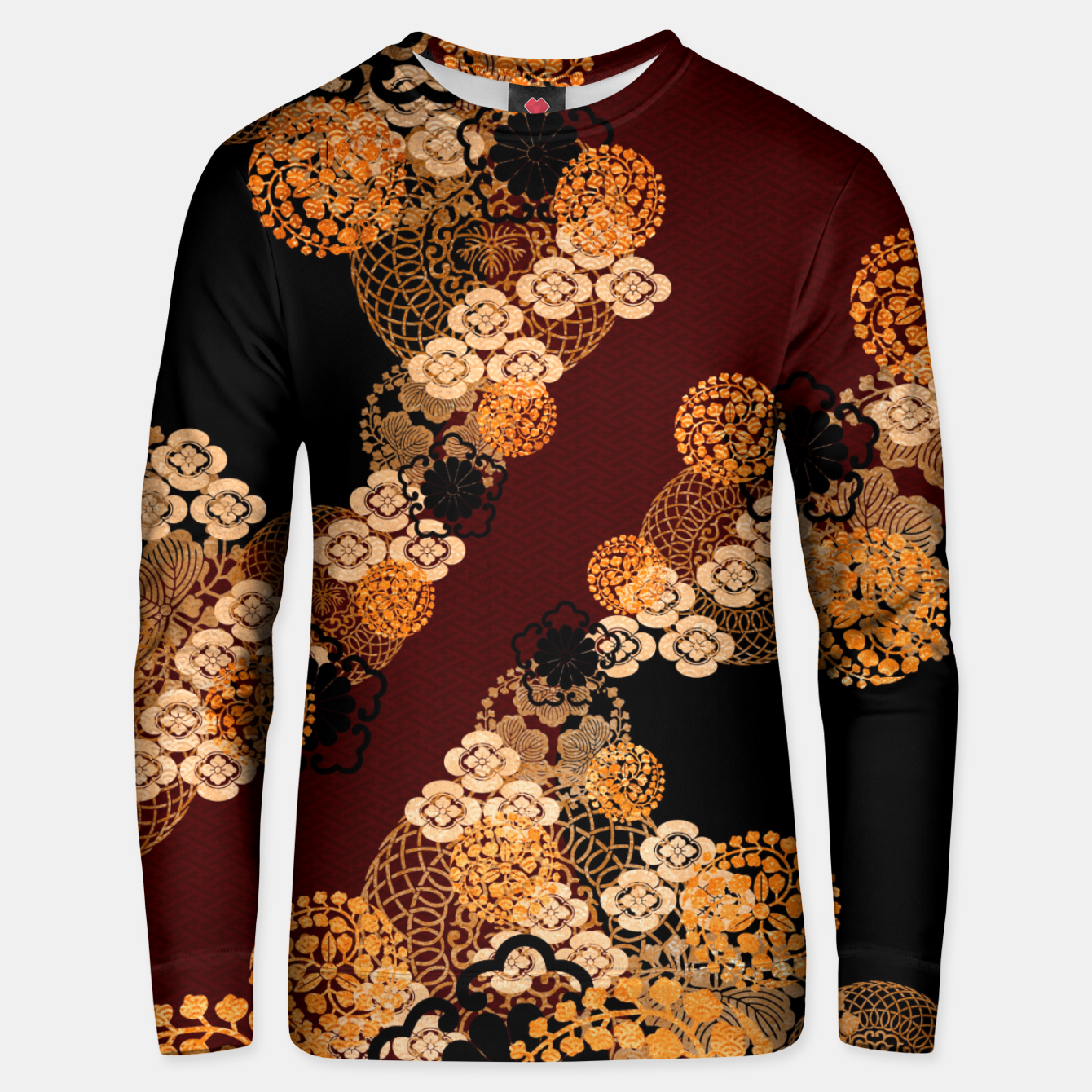 Image of Japanese traditional family crest art Unisex sweater - Live Heroes