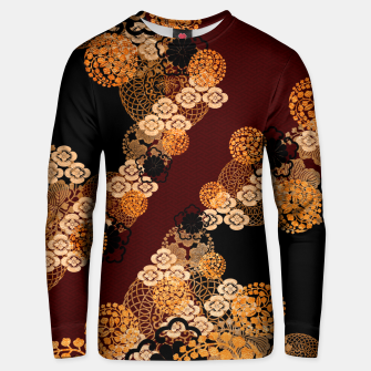 Thumbnail image of Japanese traditional family crest art Unisex sweater, Live Heroes
