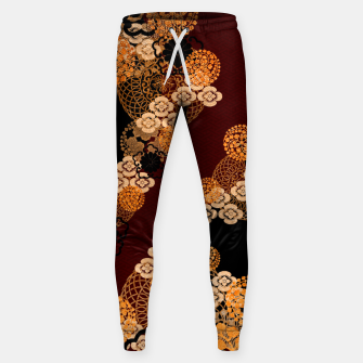 Thumbnail image of Japanese traditional family crest art Sweatpants, Live Heroes