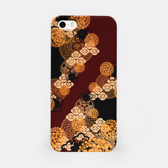 Japanese traditional family crest art iPhone Case thumbnail image
