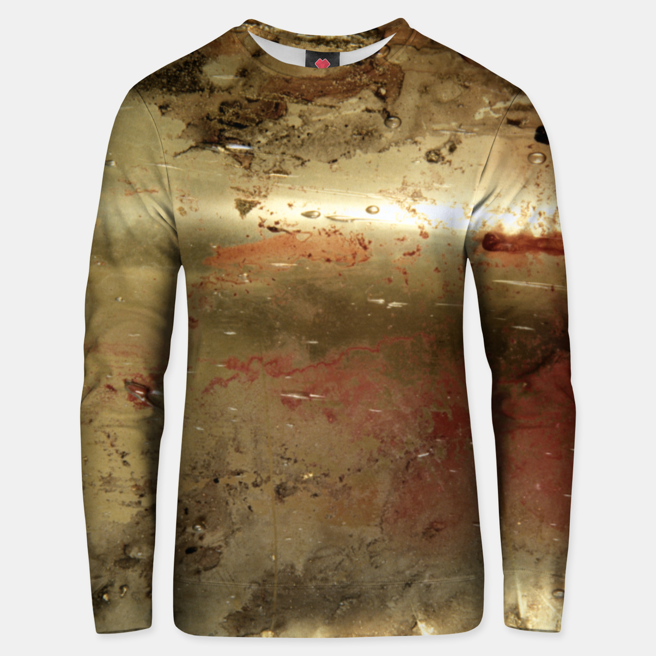 Image of Golden grunge  Unisex sweater - Live Heroes