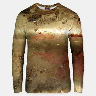 Thumbnail image of Golden grunge  Unisex sweater, Live Heroes