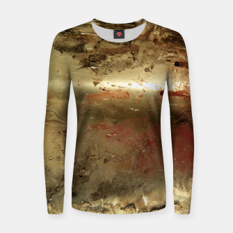 Thumbnail image of Golden grunge  Women sweater, Live Heroes