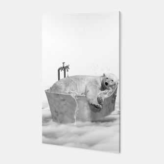 Miniatur POLAR BEAR BATH Canvas, Live Heroes