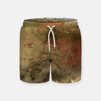 Thumbnail image of Golden grunge  Swim Shorts, Live Heroes